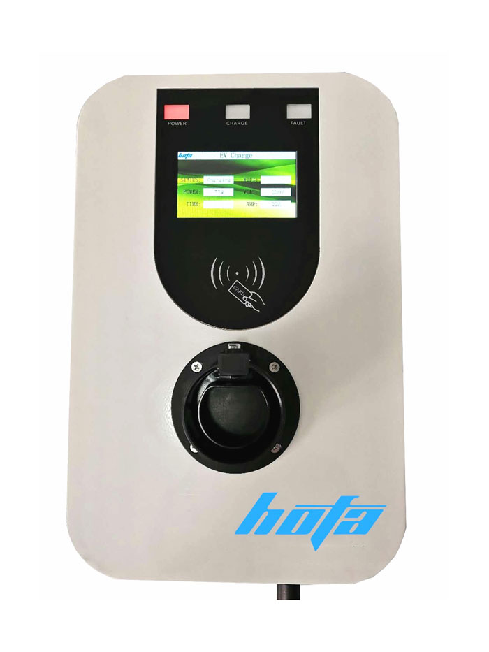 22KW EV Charging Stations with WIFI & Display