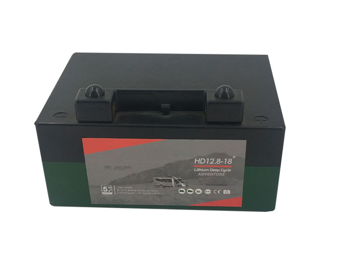12.8V 18AH LiFePO4 Lithium Battery Pack for golftrolley